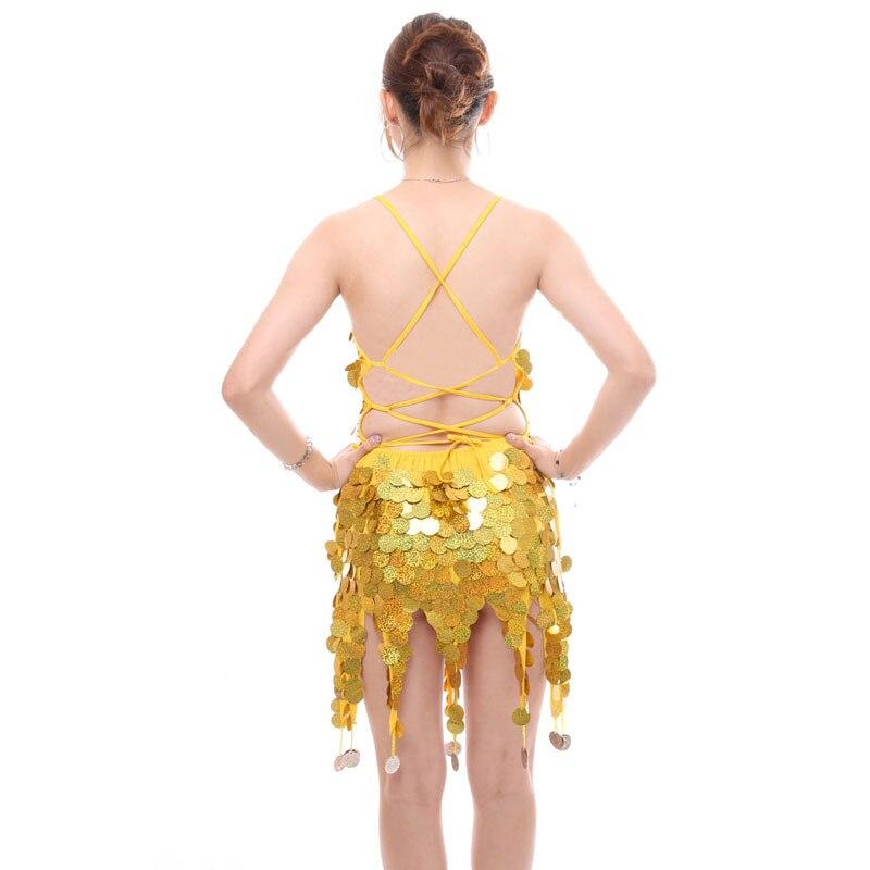 New Women/'s Latin Practice Rhythm Tassels Dance Dress Salsa Samba Rumba Ballroom