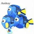3pcs/lot Anime Cartoon Finding Nemo Clownfish Dory Plush Coin Bag Soft Stuffed Animal Dolls for Children Kids' Toy AP0220