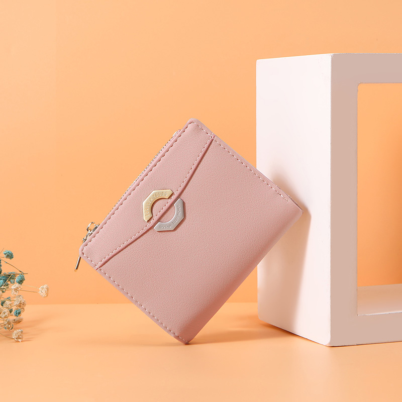 WEICHEN Small Wallet Women with Card Holder Zipper Coin Purse Ladies Wallet Female Purses Girl Short Carteira NEW Design in Wallets from Luggage Bags