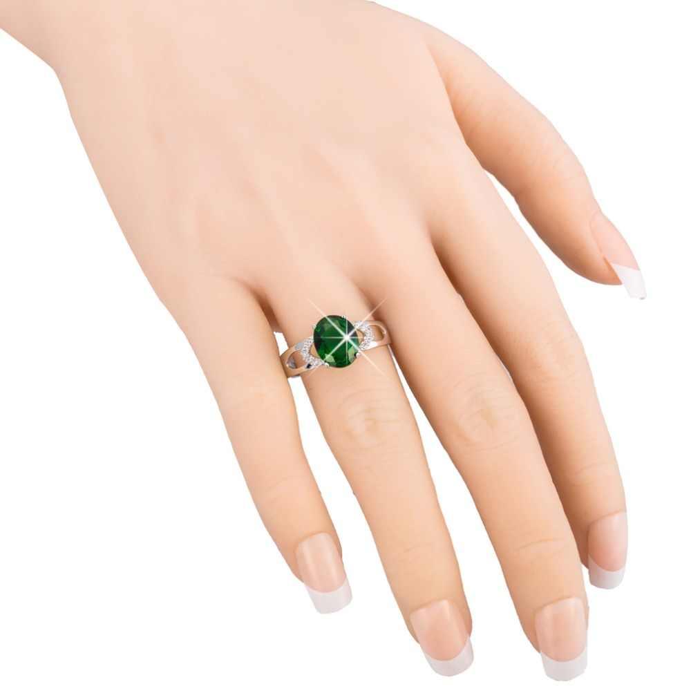 Дизайнерское кольцо Ashion, Большое Квадратное кольцо с голубым камнем для женщин и девушек, ювелирные изделия, свадебный подарок, Модные Роскошные инкрустированные камни Ri