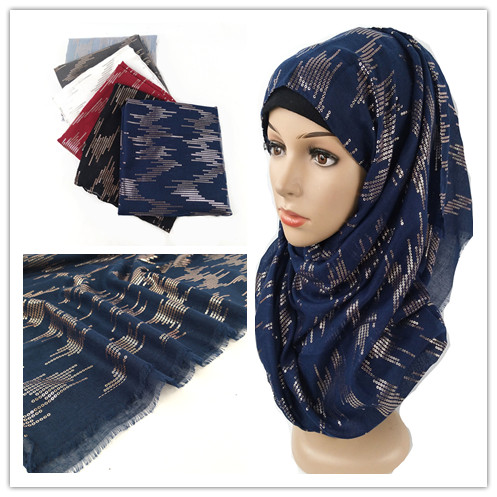 K9 High quality printed plain shinny viscose   scarf   hijab shawl women   scarf  /  scarves     wrap   headband 180*90cm 10pcs/lot