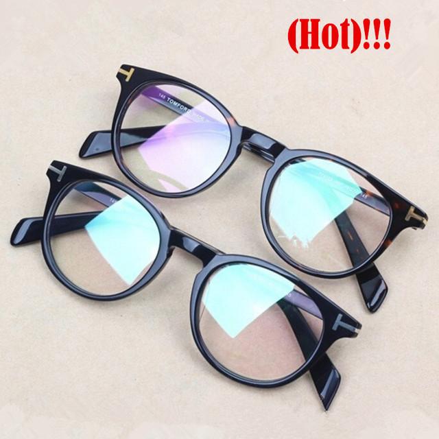 Hot vendas TF6123 óculos óptica óculos de armação marca Genuína Placa TOM tf Retro óculos de armação das mulheres dos homens com caixa original