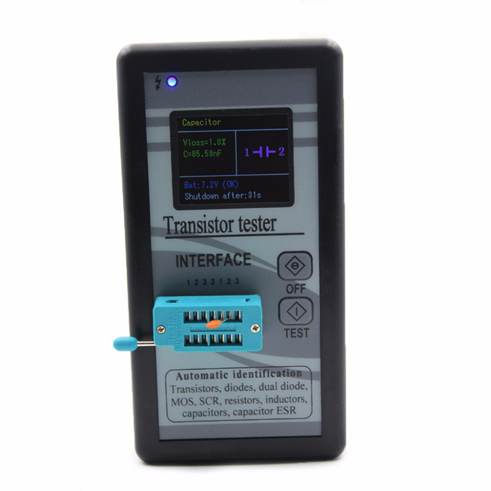 Multi-purpose Transistor Tester 128x160 Diode Thyristor Capacitance Resistor - L060 New hot hot new multi purpose infrared babies