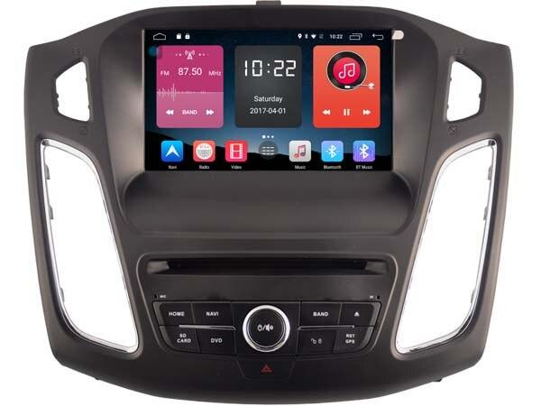 4g lite 2 gb ram Android 6.0 quad core lecteur dvd de voiture radio gps auto tête unités pour FORD FOCUS 2012-2014 2015 DVR magnétophone