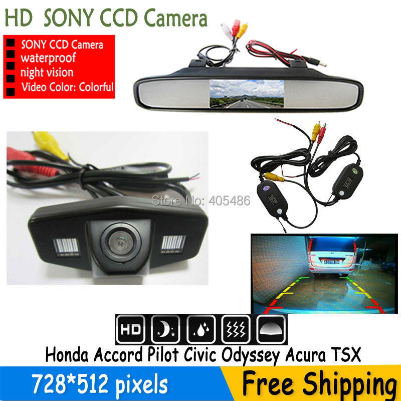 Wireless Parking Car Rear View Backup Parking Camera Car