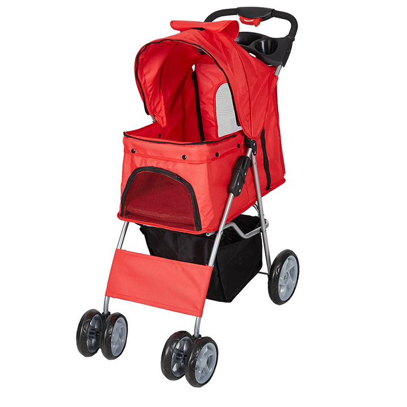 Aliexpress.com : Buy Outdoor Pet Cart Breathable Dog Carrier Bag Pet Stroller 360 Rotating Wheel