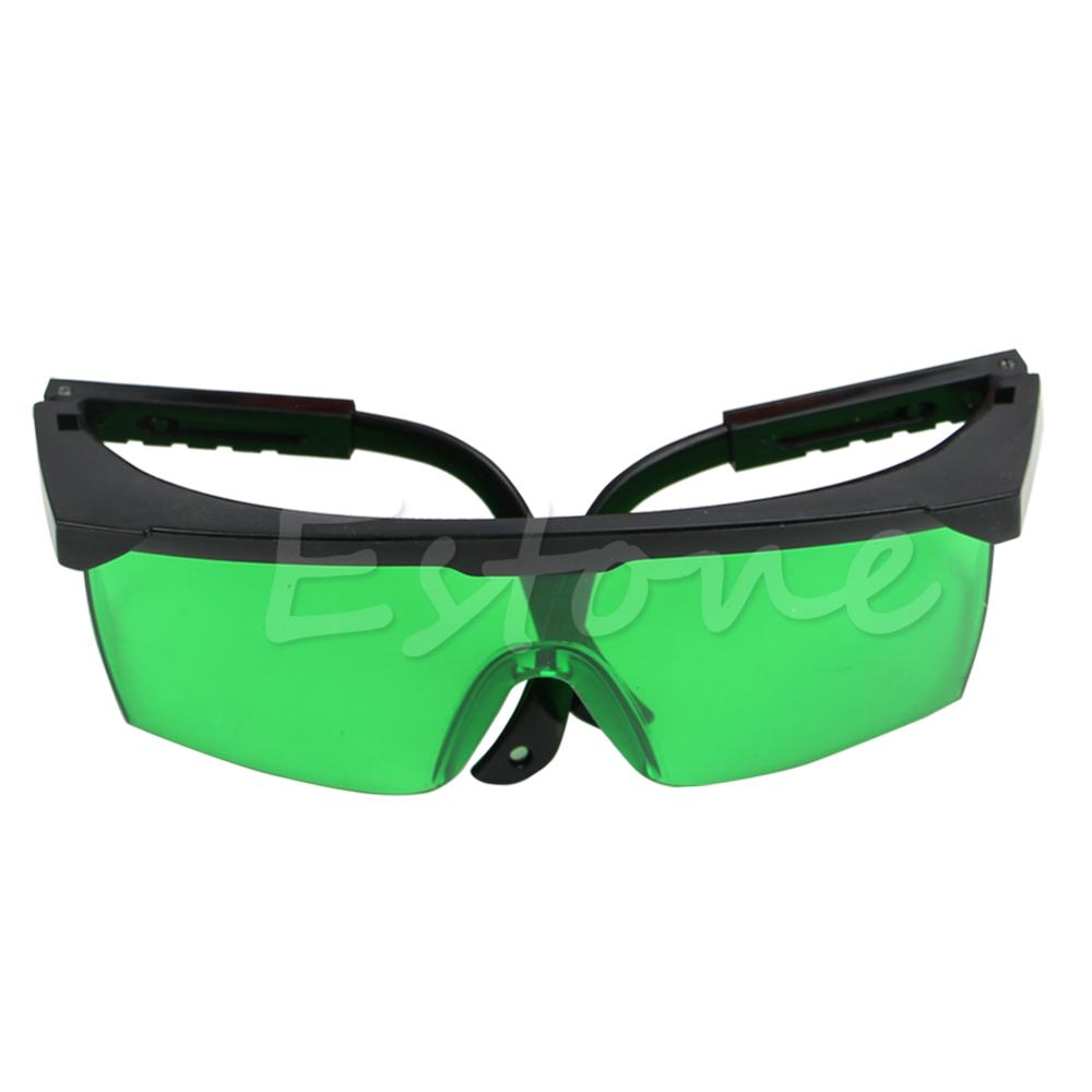 14.5 X 5.5 Cm Polyester Green/Red New Protective Goggles Safety Glasses Eye Spectacles Green Blue Laser Protection