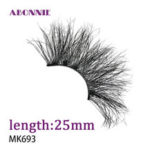 25mm lashes 1pairs natural false eyelashes fake lashes long makeup 3d mink lashes eyelash extension mink eyelashes for beauty1