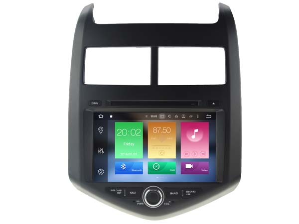 Octa 8 Core Android 6 0 font b CAR b font DVD player FOR CHEVROLET AVEO