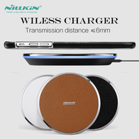 [Fast Charging Version] Nillkin Luxury Universal Mobile Phone Charger Pad For Samsung S6 S7 Edge Plus Qi Wireless Charger