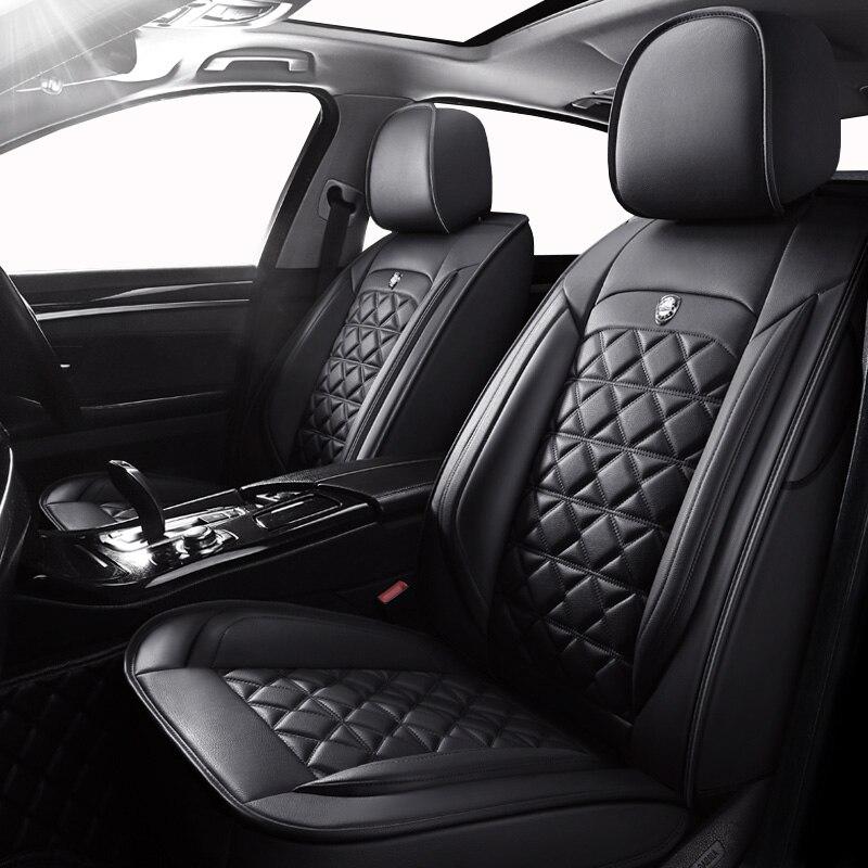 Front Rear Special Leather car seat covers For Hyundai ELANTRA i10 i20 Tucson IX35 IX25
