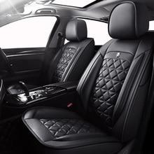 (Front + Rear) Special Leather car seat covers For Hyundai ELANTRA i10 i20 Tucson IX35 IX25 Sonata Santafe Accent automobiles