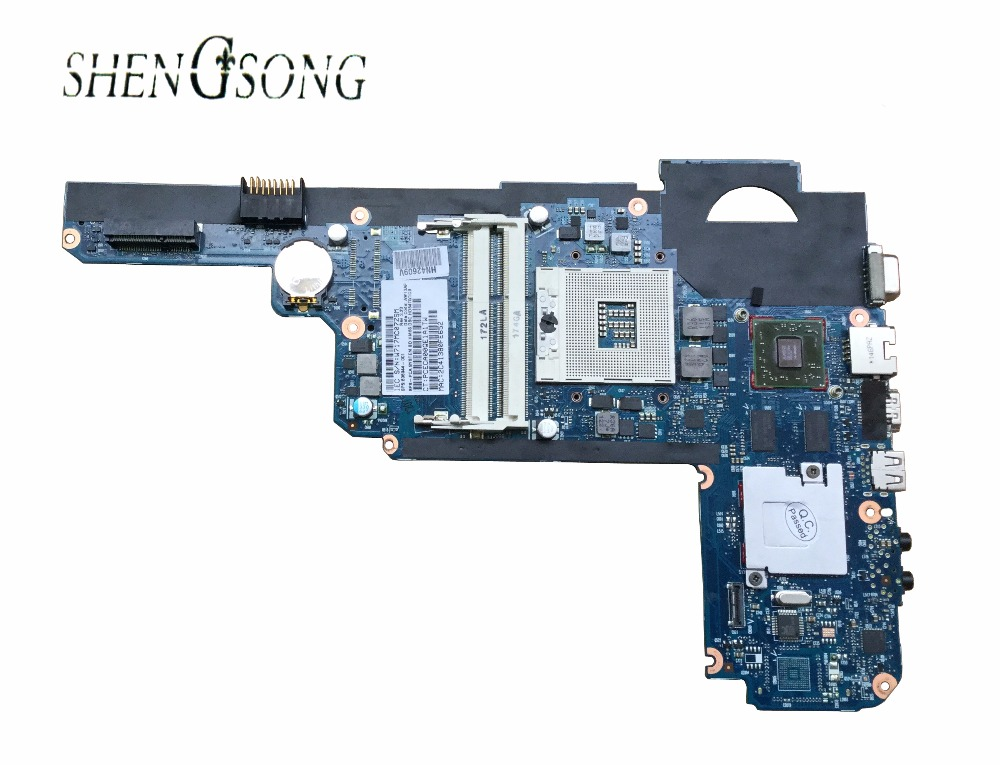 Free shipping 636944-001 mainboard for HP pavilion DM4 DM4T DM4-2000 HD6470/1GB laptop motherboard tested well gzeele new for dell precision 17 7710 7720 m7710 m7720 top cover a case switchable lcd back cover n4fg4 0n4fg4 lcd rear lid case