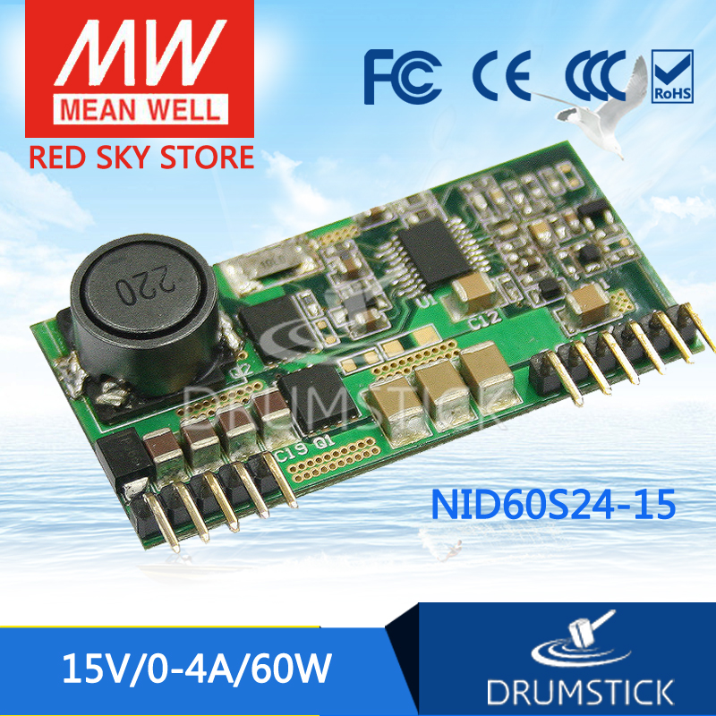 Advantages MEAN WELL NID60S24-15 15V 4A meanwell NID60 15V 60W DC-DC Non-isolated Single Output ConverterAdvantages MEAN WELL NID60S24-15 15V 4A meanwell NID60 15V 60W DC-DC Non-isolated Single Output Converter