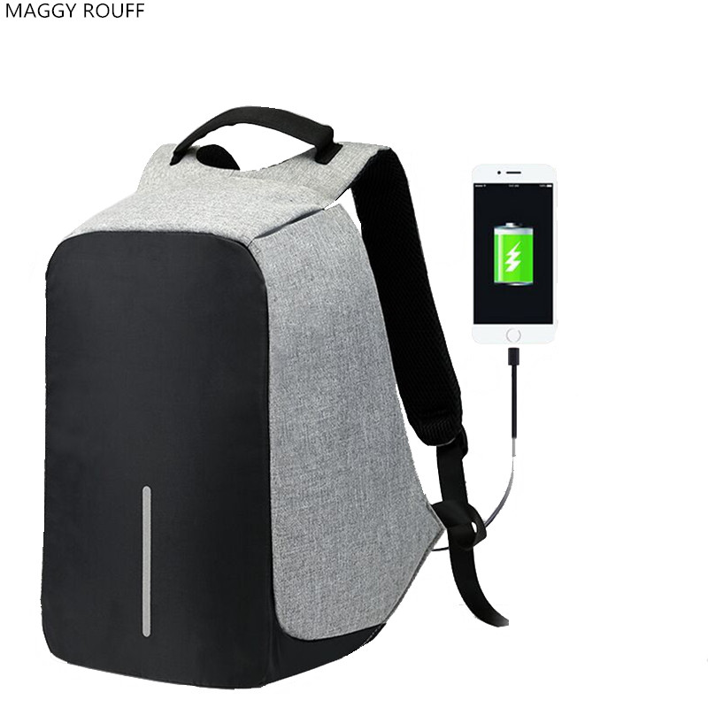 USB Charge Anti Theft Backpack Men Travel Security Waterproof School Bags Male And Female 15 Inch Laptop Backpack sopamey usb charge men anti theft travel backpack 16 inch laptop backpacks for male waterproof school backpacks bags wholesale