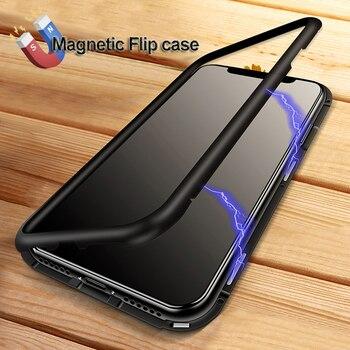 Yahoo teléfono de la adsorción para iphone X 7 más caso marco de ...