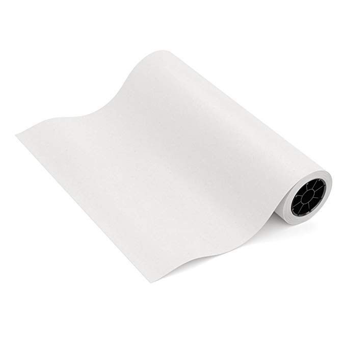 white kraft paper roll for wedding birthday party gift wrapping craft paper roll poster paper drawing paper