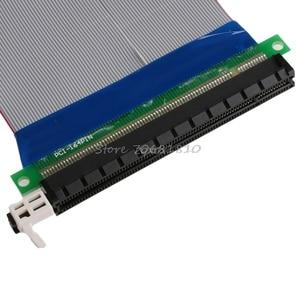 Image 3 - Pci E 16X Om 16X Riser Extender Card Adapter Pcie 16X Pci Express Flexibele Kabel Rental & Dropship