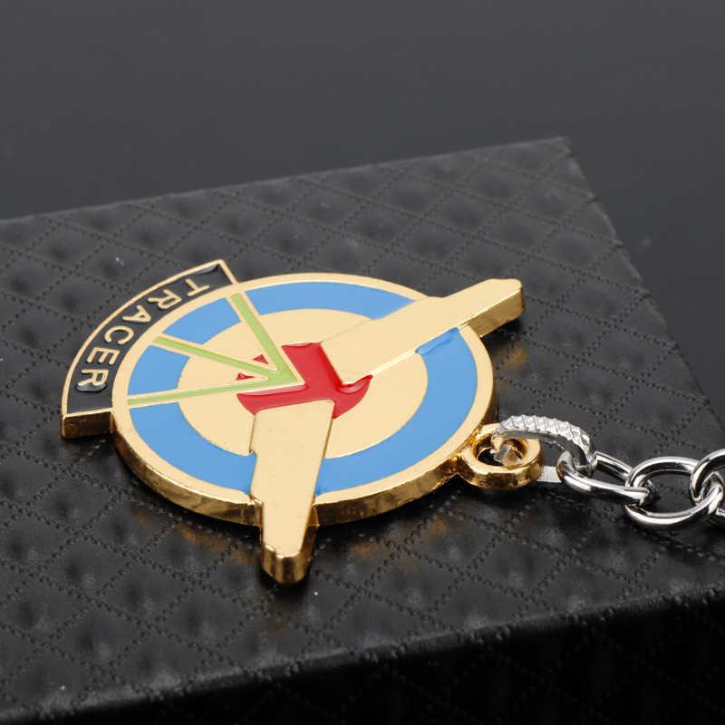 MQCHUN Модная креативная игра Overwatch брелок для ключей Автомобильный ключ цепь кольцо для ключей держатель сувенирный подарок ювелирные изделия-50
