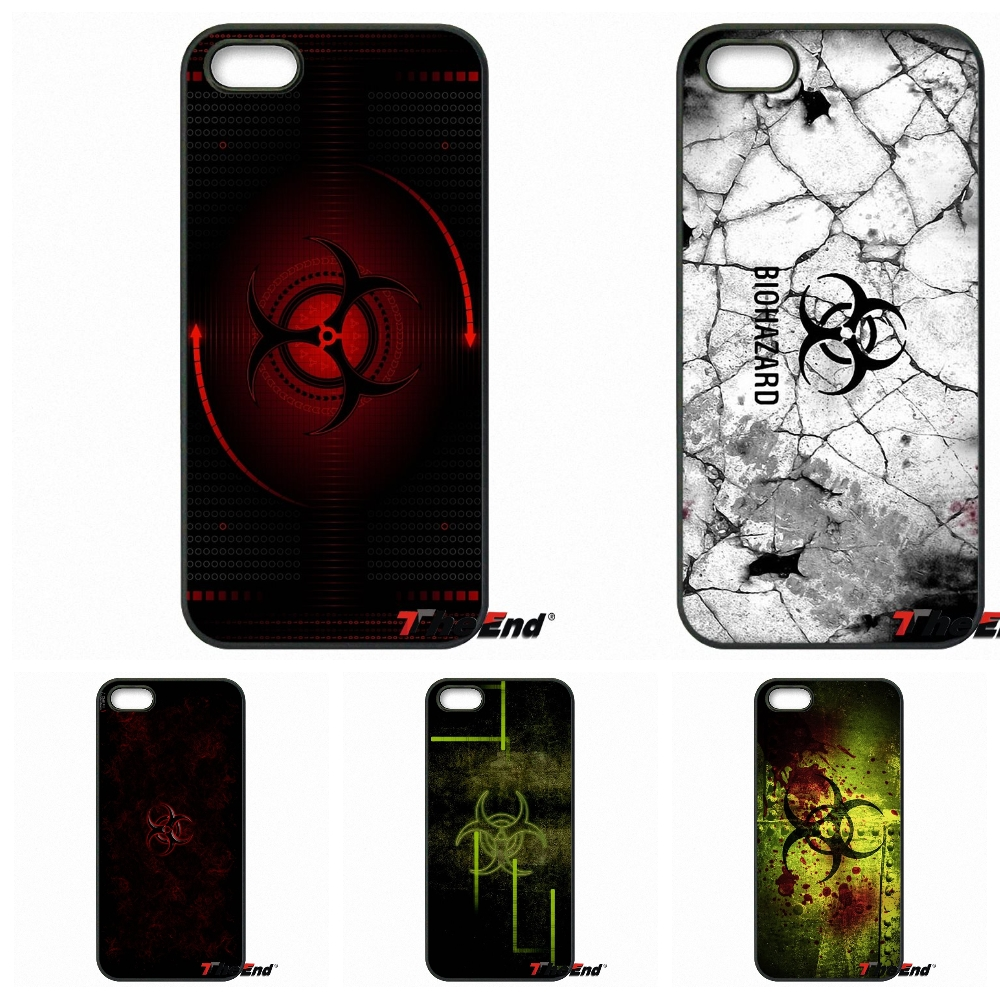 Pics photos batman logo evolution design for samsung galaxy case - Biohazard Symbol Logo Print For Samsung Galaxy Core Grand Prime S4 S5 S6 S7 Edge Xiaomi