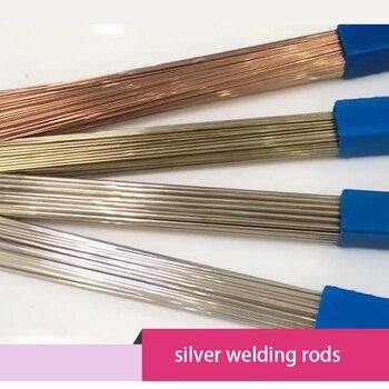 100g 2%-72% Silver Welding Rod Silver-brazing Filter Metal Alloy Silver Solder
