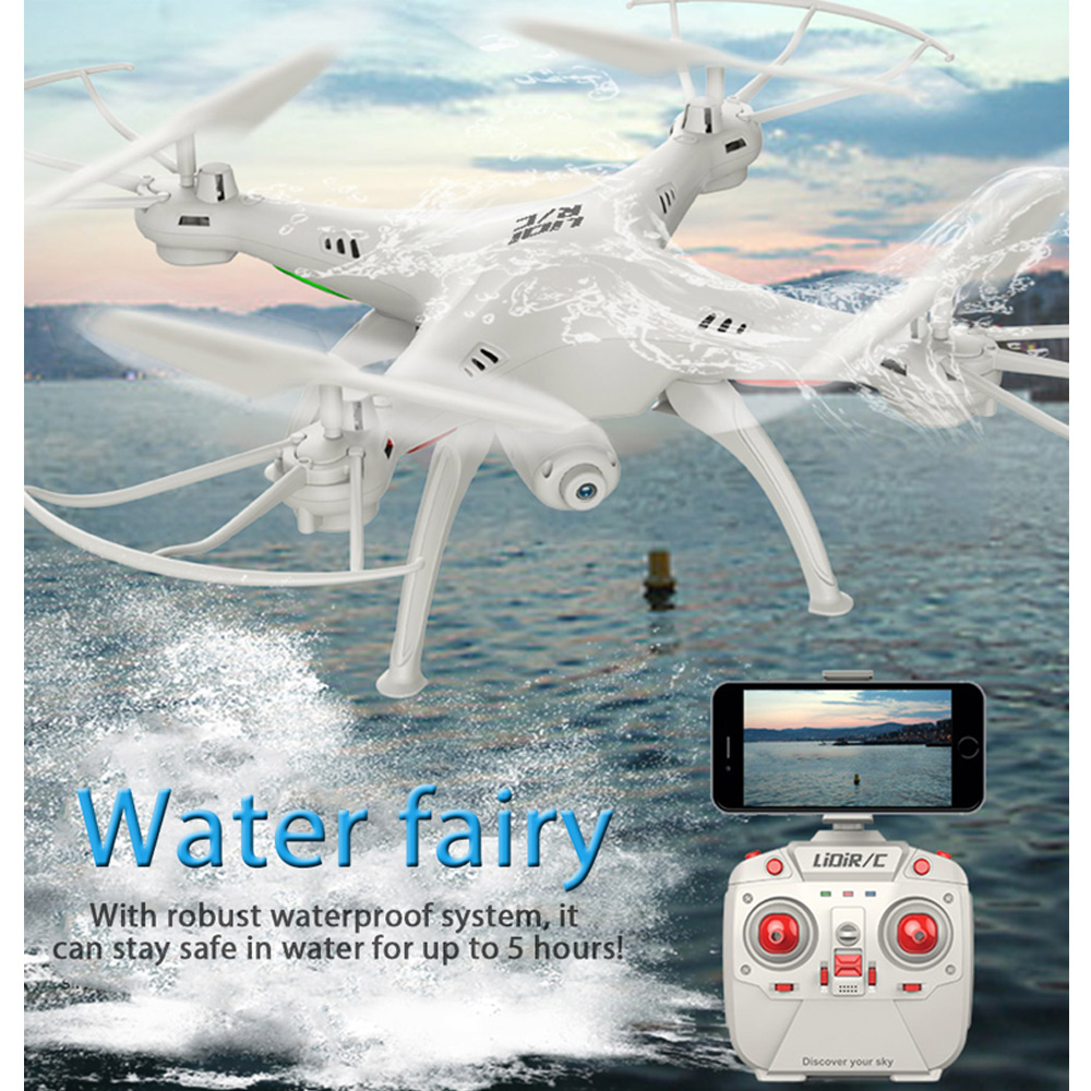 Original Racing Quadcopter WiFi FPV 2.4GHz 4CH 6 Axis Gyro Waterproof RC Drone Dron Brushed Quadcopters Radio Control Helicopter