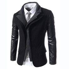 2016 berühmte Marke Männer Slim Fit Anzüge Plus Größe Mode Casual Männer Blazer Marke Jacke Outwear Europäischen und Amerikanischen Stil S291