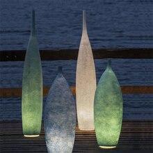 Modern Light LED Loft Floor Resin Vase Lamp Hotel Luxurious Noble Decoration Furniture Lighting Standing