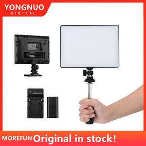 Image 1 - YONGNUO YN300 YN 300 Air LED Camera Video Light 3200K 5500K with NP F750 Decoded Battery + Charger for Canon Nikon & Camcorder