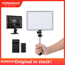YONGNUO YN300 YN 300 אוויר LED מצלמה וידאו אור 3200 K 5500 K עם NP F750 מפוענח סוללה + מטען עבור canon ניקון ומצלמת וידאו