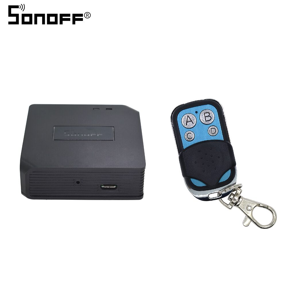 SONOFF Bridge RF Wifi 433mhz With Motion Alarm Sensor PIR2 RIR DW1 Wireless Detector 433 Remote Controller Smart Home Security