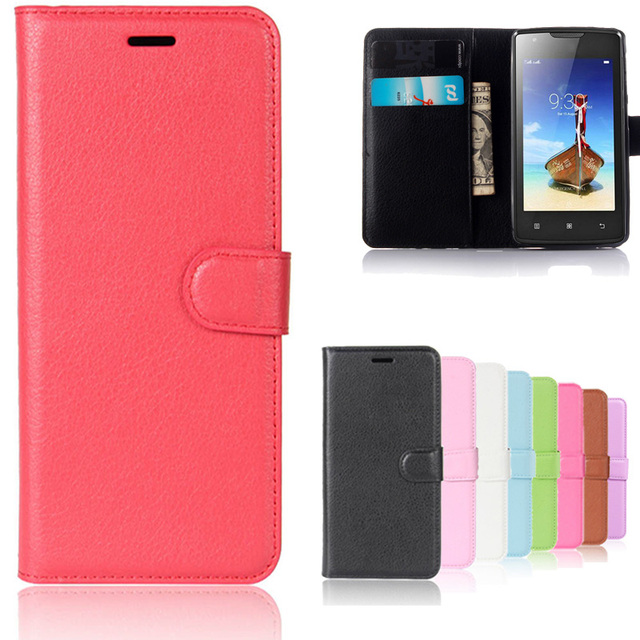 Luxury Retro Leather Flip Case For Lenovo A1000 A 1000 Cover Phone Cases Wallet Book