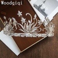 Pelo de la boda tiara pedazo principal Woodqiqi peinetas diademas joyería y accesorios para peinados tocados de novia vintage