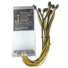 Alimentation 1800 w 6PIN * 10 Ant ETH antminer BTC LTC DASH miner Max 2000 W PSU pour S9/S7/L3 +/D3/T9/A8/E9/A4 + PK APW3 + + +