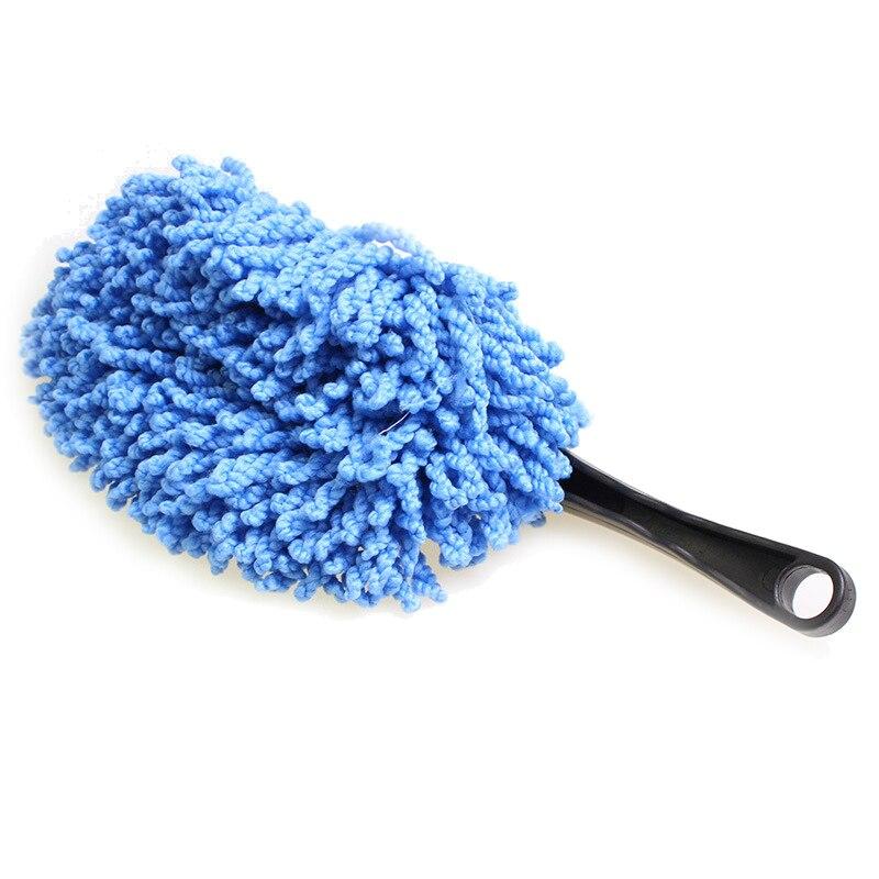 Автомобильный маленький воск щетка для чистки автомобиля воск кисть щётка от пыли съемный синий