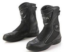 Arcx wasserdichte motorrad schutz stiefel racing motorräder motocross reiten stiefel leder unisex moto schuhe größe: 6-12