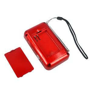 Image 5 - kebidumei 2018 Brand NEW 50mm Internal Magnetic T508 LED Stereo FM Radio Speaker USB TF Card MP3 Music Player