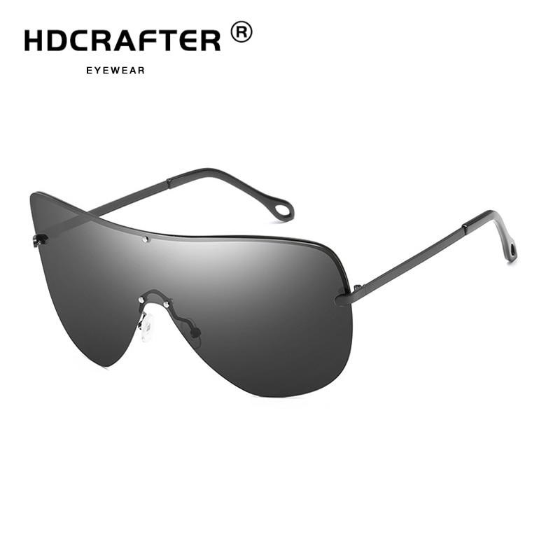 Sunglasses Men Polarized Glasses UV400 Male Driving Sun Glasses Brand Designer Classic Sunglasses Rimless For Men Sunglasses