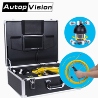 WP360 50M Snake Cable Under Water Sewer Drain Pipe Wall Inspection Endoscope Camera