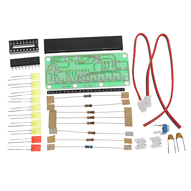 LM3915 Level Indicator Kit DC9V-12V DIY Electronic Production