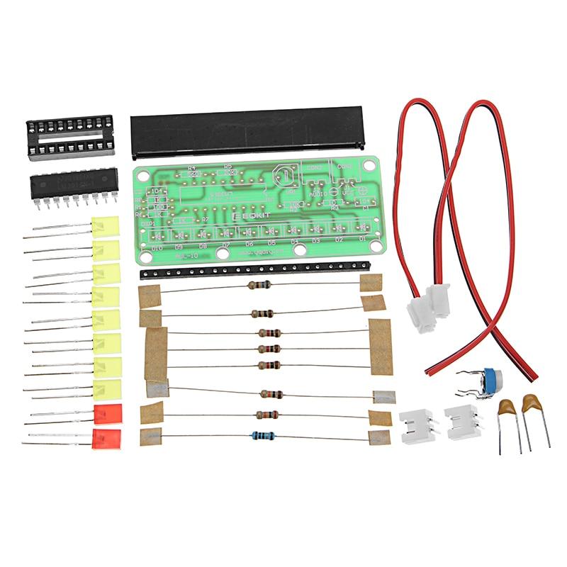 LM3915 Level Indicator Kit DC9V-12V DIY Electronic Production Module Kit