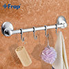 FRAP 1 Set Modern Style Restroom Tower Holder Wall Mount Four Hooks Bathroom Accessories Towel Hook