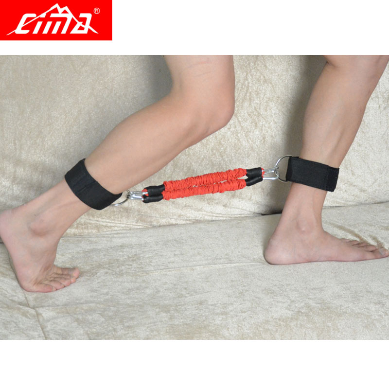 CIMA Resistance Bands Running tubes crossfit Kinetic Leg jump Exercise For Football basketball Training Speed Agility pull rope