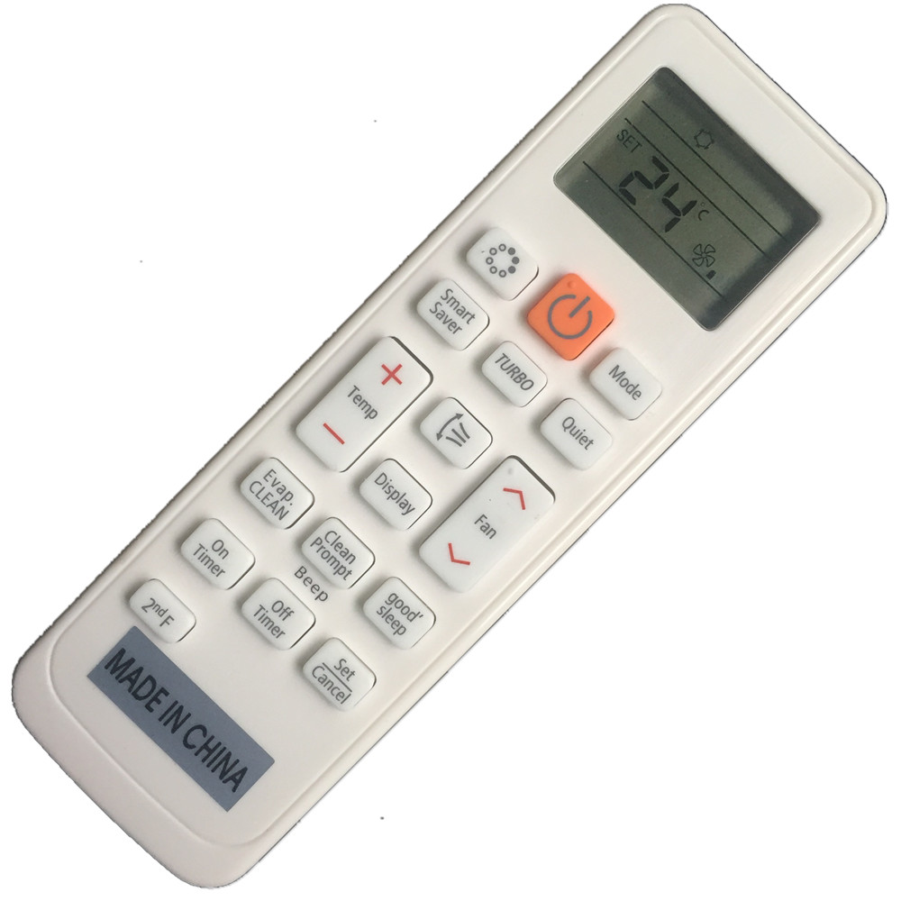Conditioner air conditioning remote control suitable for lg