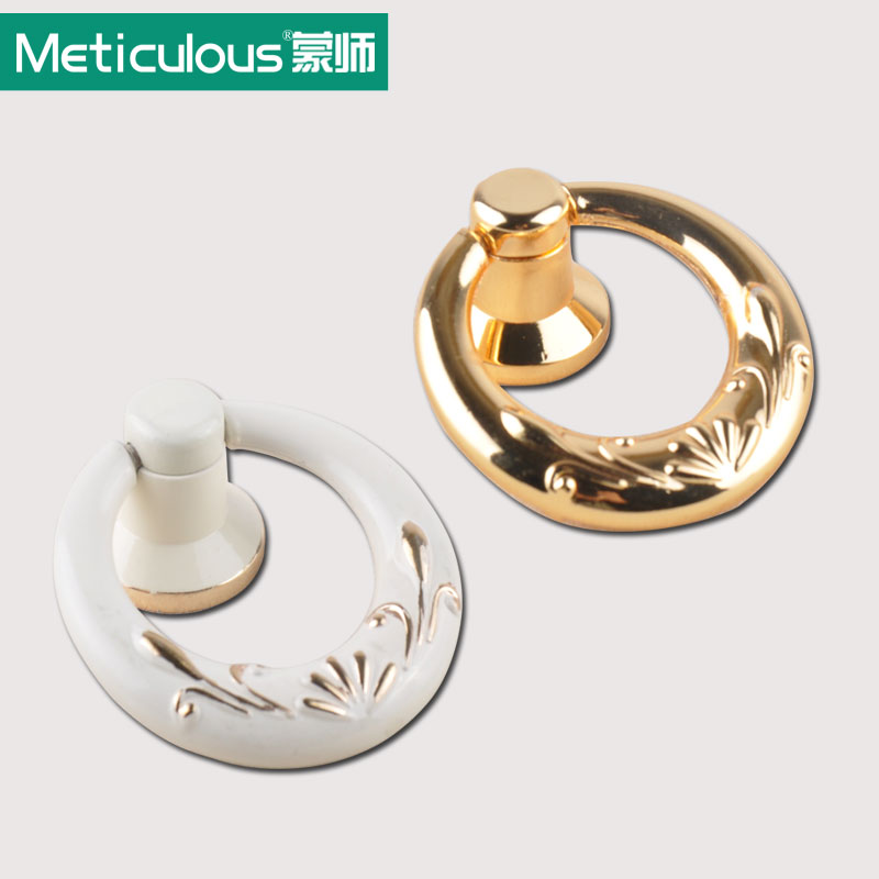Meticulous Cabinet drawer mini pulls door small round rings knobs kitchen dresser handle Closet Door handles furniture knob 10pc hidden door handles wardrobe cabinet drawer knobs and handle solid furniture closet doorknob bathroom pulls gold and silver