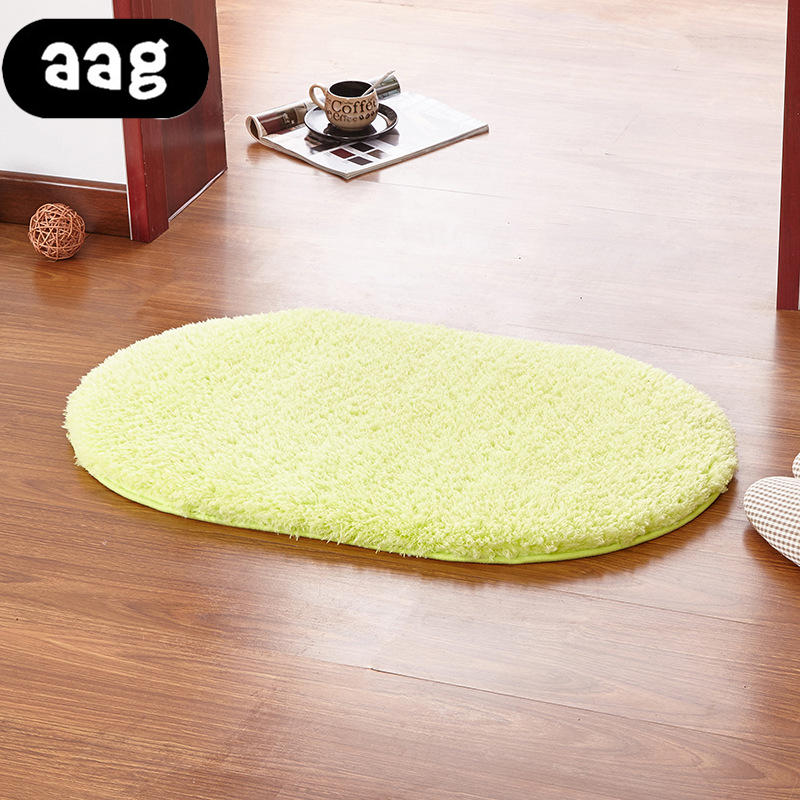 Batteries Clever Plush Round Shape Carpet Throw Rug Anti-skid Shaggy Area Rug Soft Floor Mat House Living Room Bedroom Carpet Floor Rug