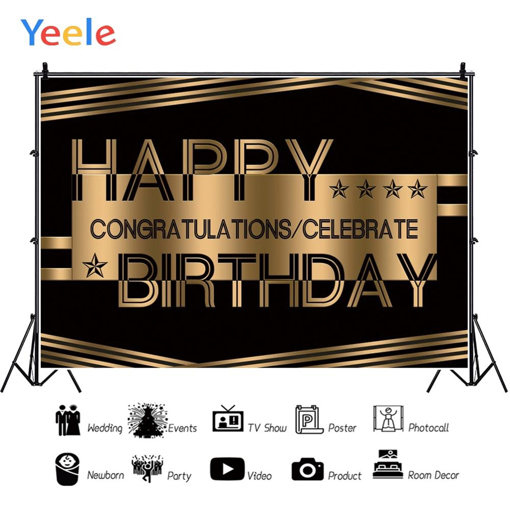 Yeele Birthday Decor Photocall Party Garland Leaves Photography Backdrops Personalized Photographic Backgrounds For Photo Studio in Background from Consumer Electronics