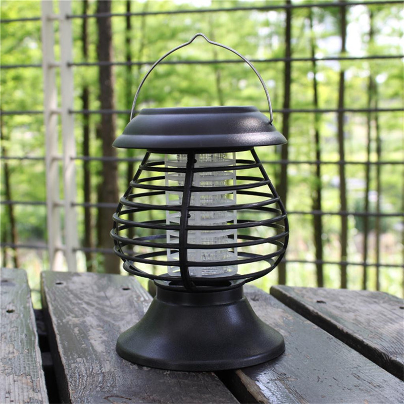 Solar LED Light Mosquito Insect Killer Light Garden Lawn  Home Night Light Killing  Mosquito Trap Light Anti Mosquito Insect  A1