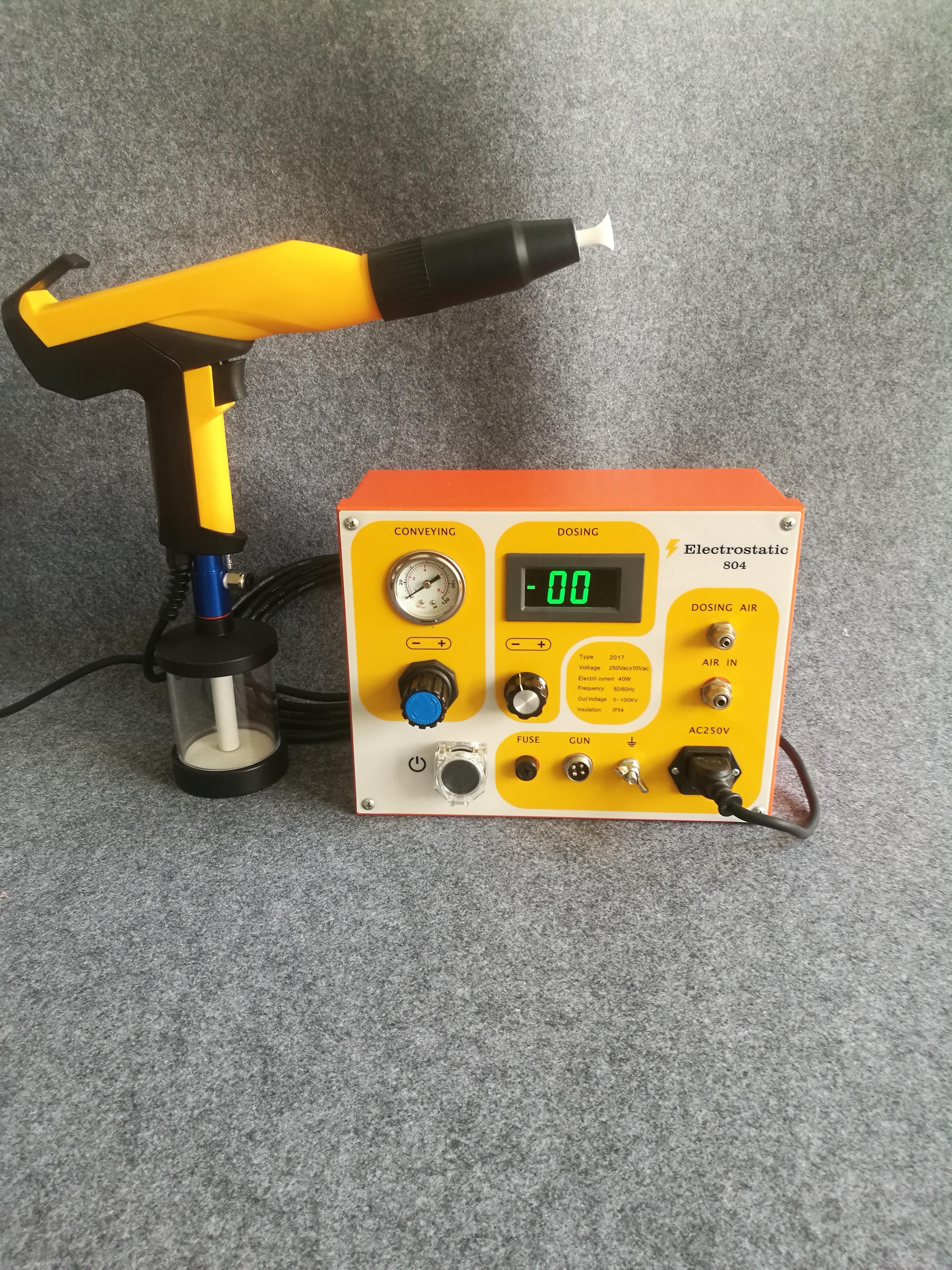 Portable Powder Coating Test Machine Test Gun