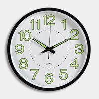3D Luminous White Wall Clock Quartz Secret Stash Guess Watch Mechanism Kids Rooms Kitchen Hanging Clock Relogio Parede 50ZB133